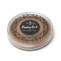 Global Body Art Face Paint -  Metallic Bronze (32 gm)