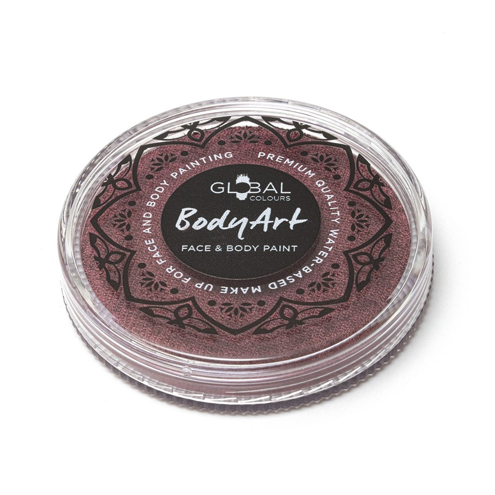 Global Body Art Face Paint -  Pearl Burgundy (32 gm)