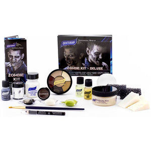 Graftobian Zombie  Makeup kit - Deluxe