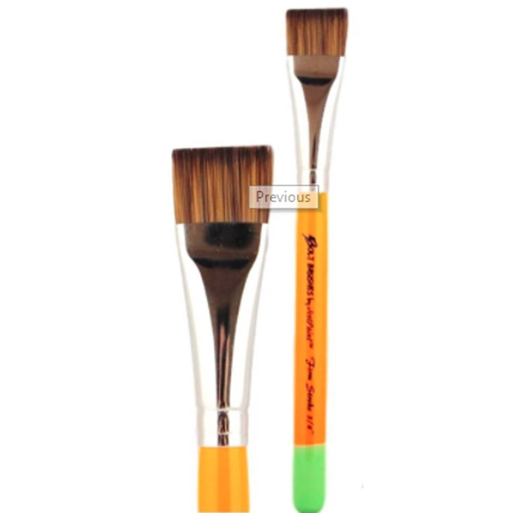 "Jest Paint Bolt Firm Flat Brush (3/4"")"