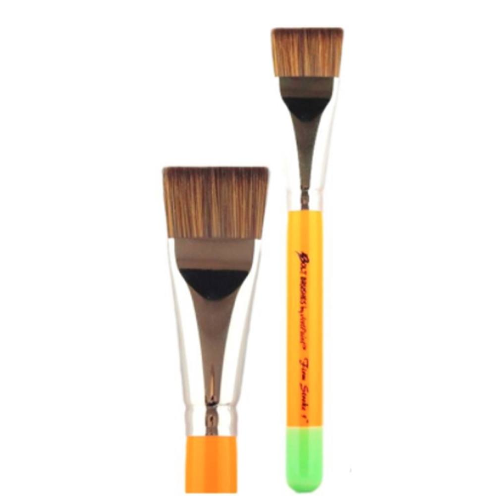 "Jest Paint Bolt Firm Flat Brush (1"")"
