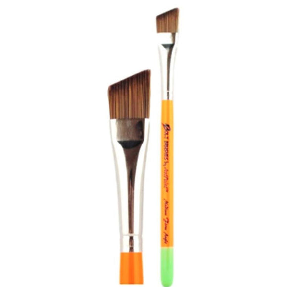 Jest Paint Bolt Medium Firm Angle Brush (5/8