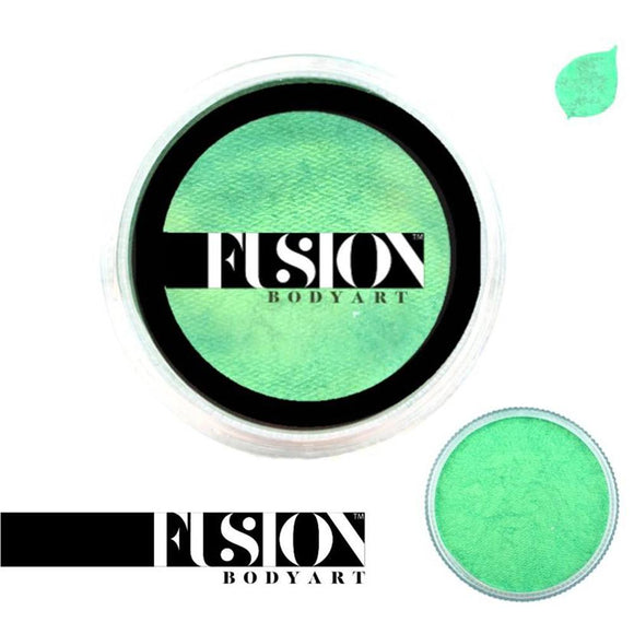 Fusion Body Art Face Paint - Pearl Mint Green (25 gm)