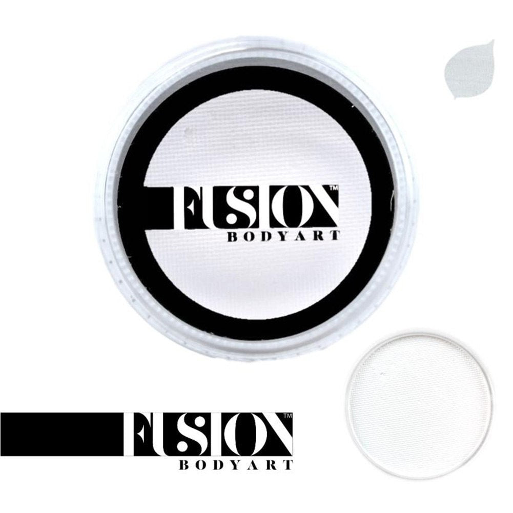 Fusion Body Art Face Paint - Prime Paraffin White (3 Size Choices)