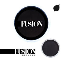 Fusion Body Art Face Paint - Prime Strong Black (3 Size Choices!)