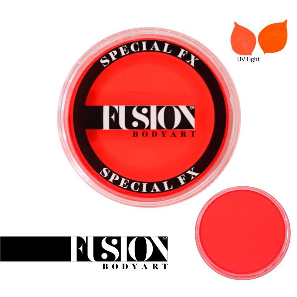 Fusion Body Art & FX - UV Neon Orange (32 gm)