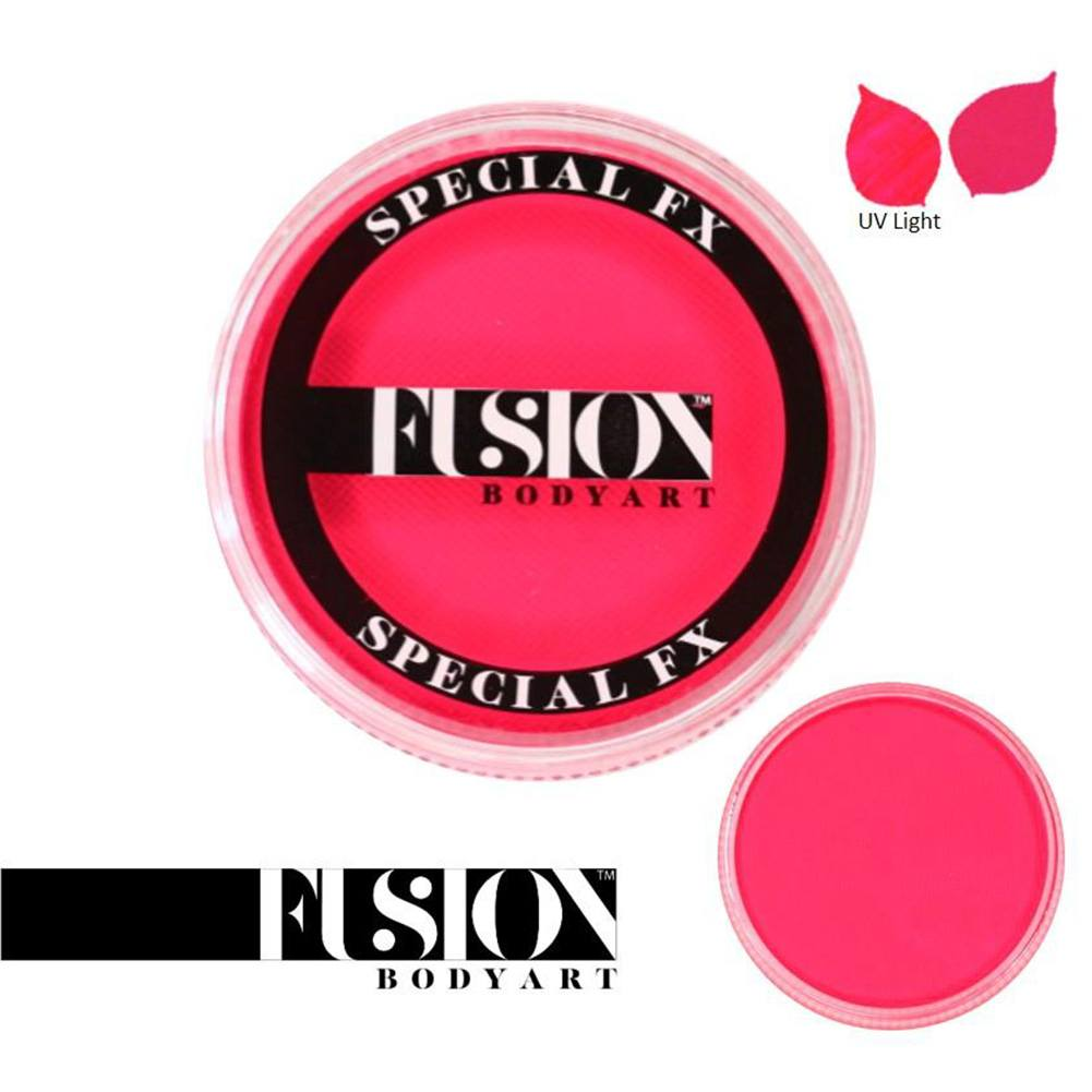 Fusion Body Art & FX - UV Neon Pink (32 gm)
