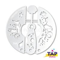TAP Face Painting Stencil Set - Mermaid Trilogy