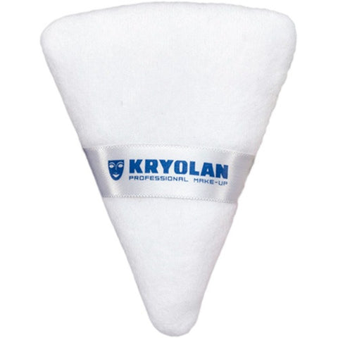 "Kryolan Velour Powder Puff (3"" x 3 3/4"") - 1-pack"