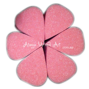 "Always Wicked Art Butterfly Sponge (2"" x 1 1/2"") - 6-pack"