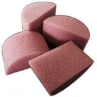 "Always Wicked Art Mini Half Round Sponge (2"" x 1"") - 12-pack"