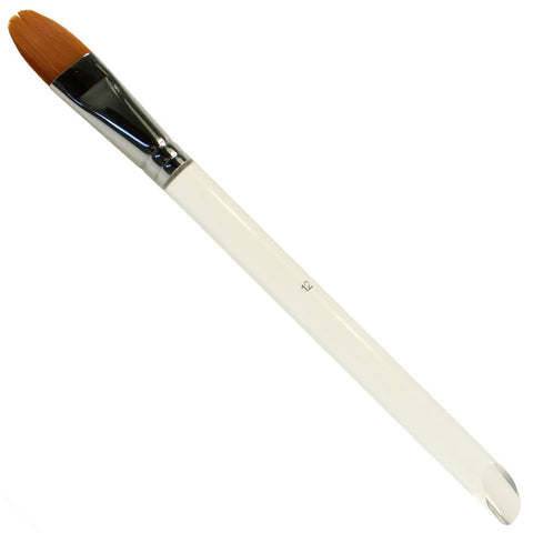 "Diamond FX #12 Oval Brush (3/4"")"