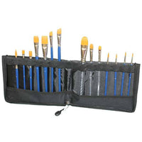TAG Brush Wallet With Zip (14 Brushes)
