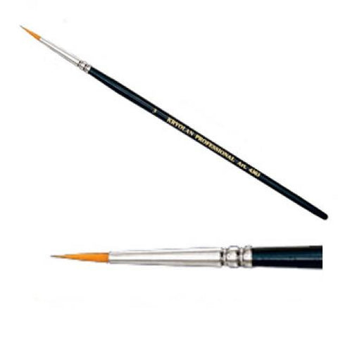"Kryolan #3 Round Brush (1/8"")"