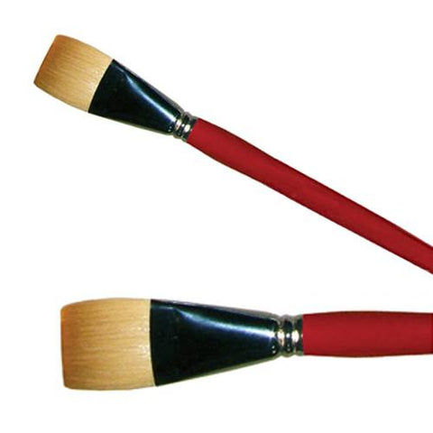 "Graftobian Brushes - 1 Inch Flat (1"")"