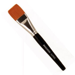 "Ruby Red Super Flat Brush (1 1/8"")"