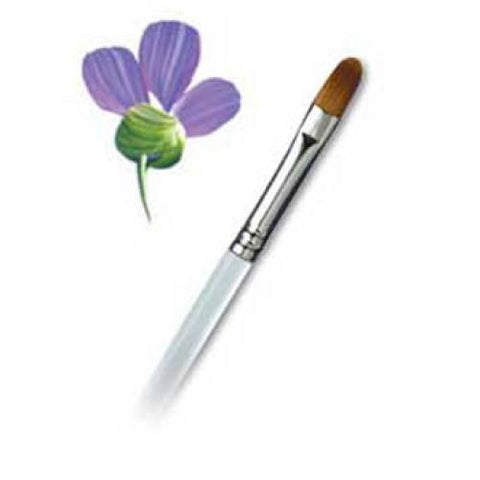 "Aqualon #8 Filbert Brush (1/4"")"