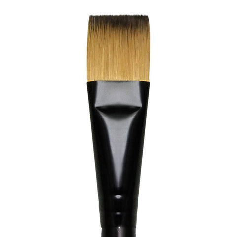 "Royal Majestic Glaze Wash R4700 Flat Brush (3/4"")"