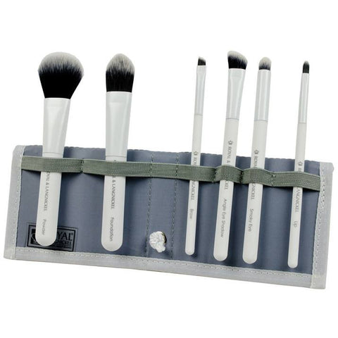 Royal and Langnickel MODA 7 Piece Total Face Brush Set - White
