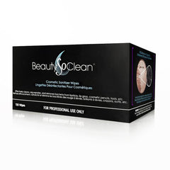 BeautySoClean Cosmetic Sanitizer Wipes (100/Box)