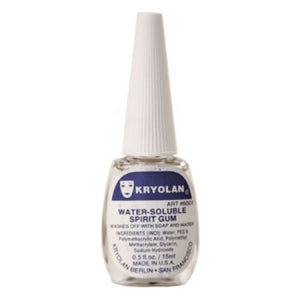 Kryolan Hydro Spirit Gum (0.4 oz/12 ml)