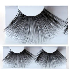 Kryolan Long Black Feathery Eyelashes