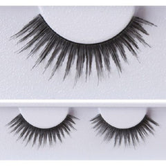 Kryolan Short Black Feathery Elelashes