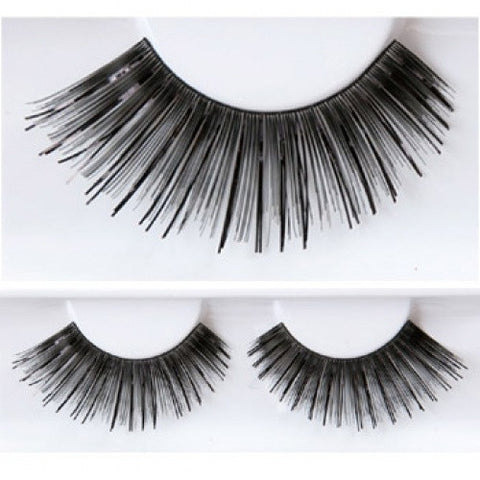 Kryolan Black/Black Eyelashes