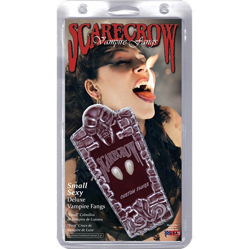 Scarecrow Subtle Small Deluxe Vampire Fangs
