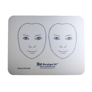 Design It Face Painting Practice Board - 2 Front View Kids