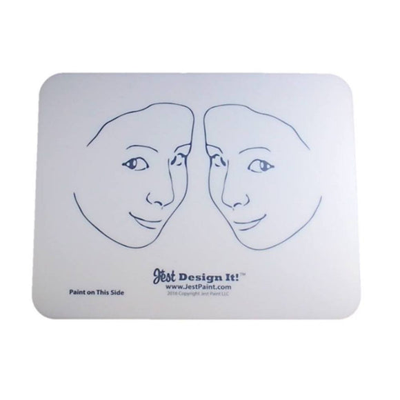 Design It Face Painting Practice Board - 2 Side View Kids