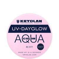 Kryolan Aquacolor Cosmetic Grade UV-Dayglow - Rose (8 ml)