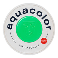 Kryolan Aquacolor Cosmetic Grade UV-Dayglow - Green