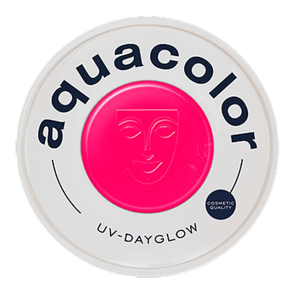 Kryolan Aquacolor Cosmetic Grade UV-Dayglow - Magenta