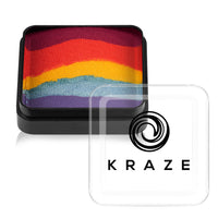 Kraze FX Domed Split Cake - Girly Girl Rainbow (25 gm)