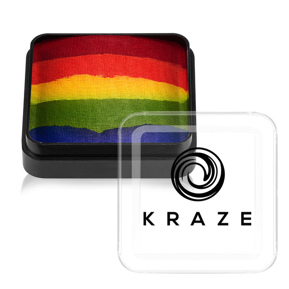 Kraze FX Domed Split Cake - Really Rainbow (25 gm)