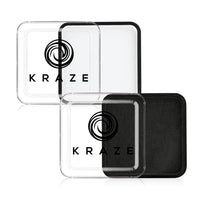 Kraze FX Face Paints - Black & White Value Pack (25 gm each)