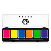 Kraze FX Neon 6 Color Palette (6 gm each)