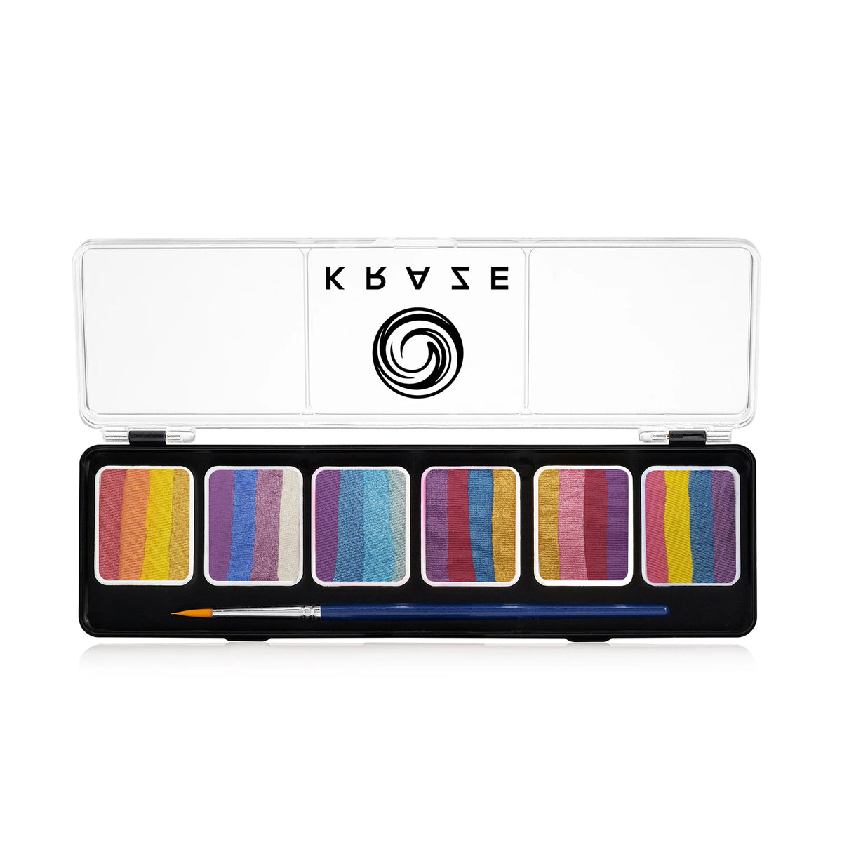 Kraze FX Splash Glam 6 Split Cake Palette (6 gm each)