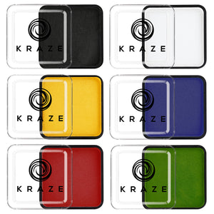 Kraze FX Face Paints - Primary Colors Value Pack (25 gm each)