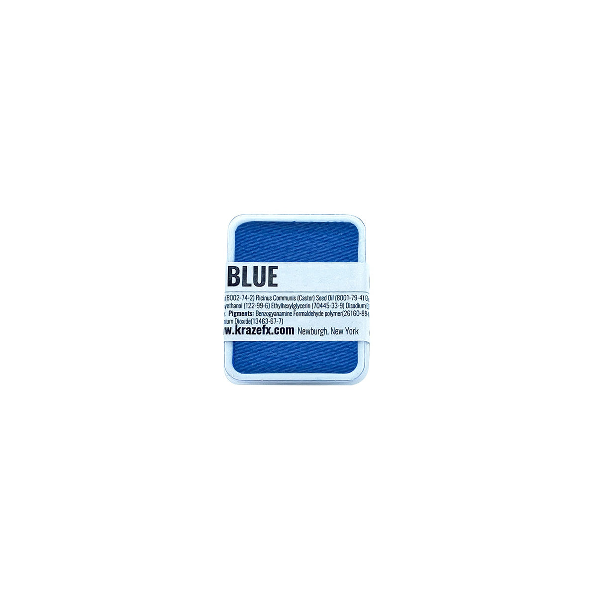 Kraze FX Face Paint Palette Refill - Neon Blue (0.21 oz/6 gm)