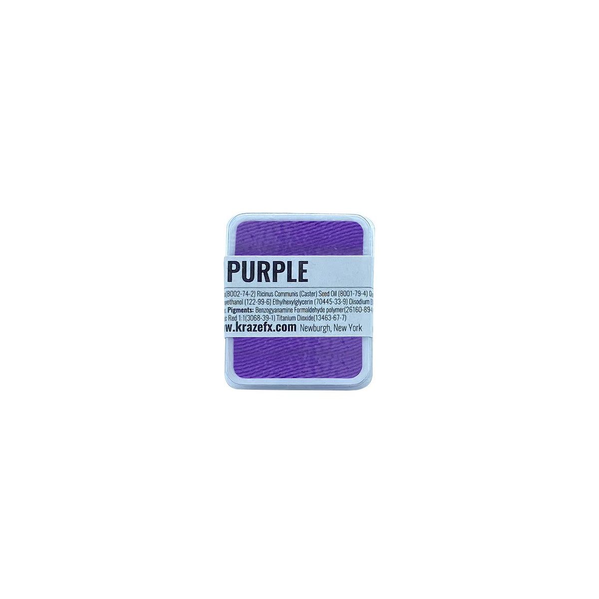 Kraze FX Face Paint Palette Refill - Neon Purple (0.21 oz/6 gm)