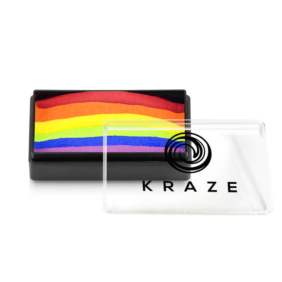 Kraze FX Domed One Stroke Cake - Deep Rainbow (25 gm)