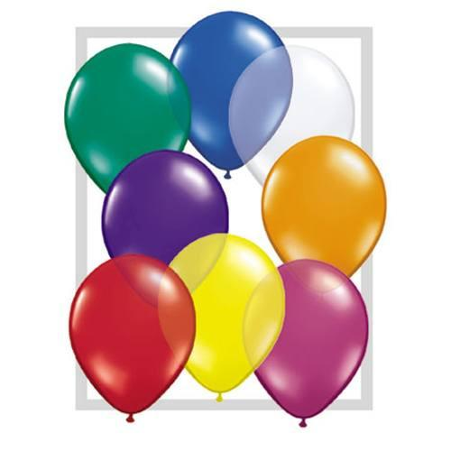 "Qualatex Round Balloons - 5"" (100/bag)"