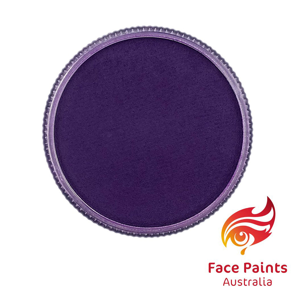 Face Paints Australia Face & Body Paint - Essential Purple (30 gm)