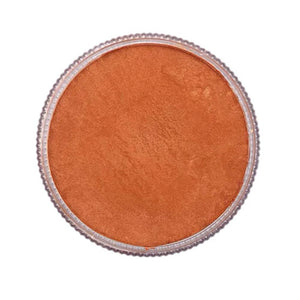 Face Paints Australia Face & Body Paint - Metallix Orange (30 gm)