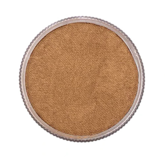 Face Paints Australia Face & Body Paint - Metallix Golden Bronze (30 gm)