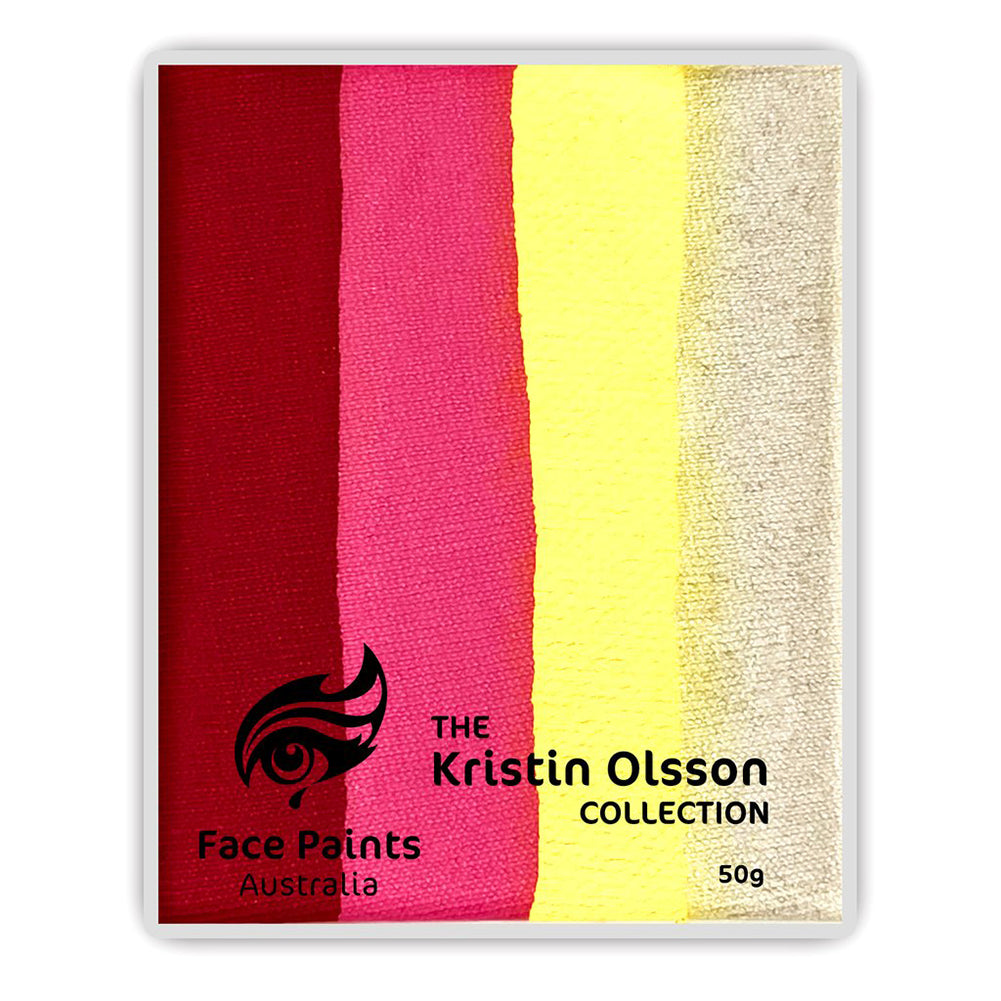 Face Paints Australia - Kristin Olsson Combo Cake - Rosy Maple (50 gm)