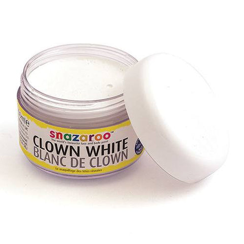 Snazaroo Clown White Water Based Makeup