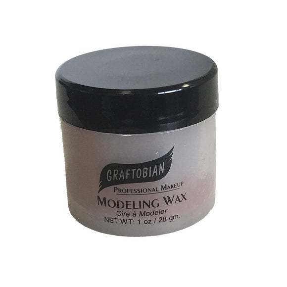 Graftobian Modeling Wax - Medium Brown (1 oz)